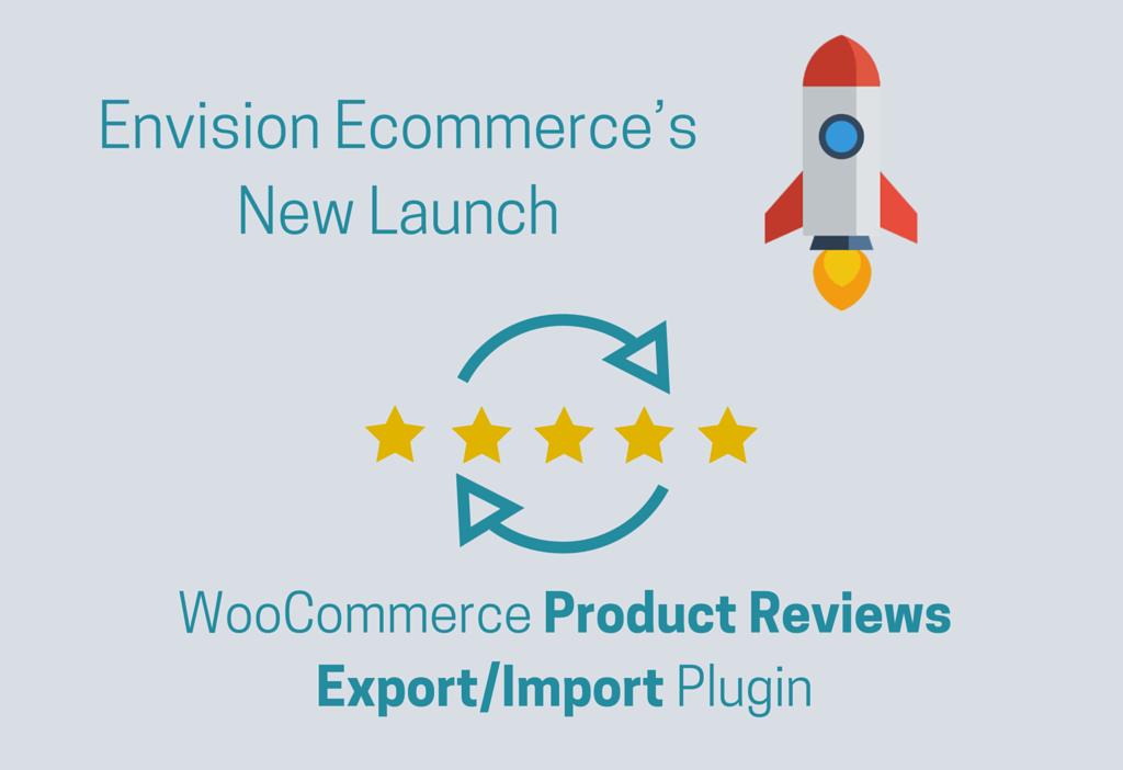 ENVISION ECOMMERCE'S HOT RELEASE: WOOCOMMERCE PRODUCT REVIEWS EXPORT/IMPORT PLUGIN