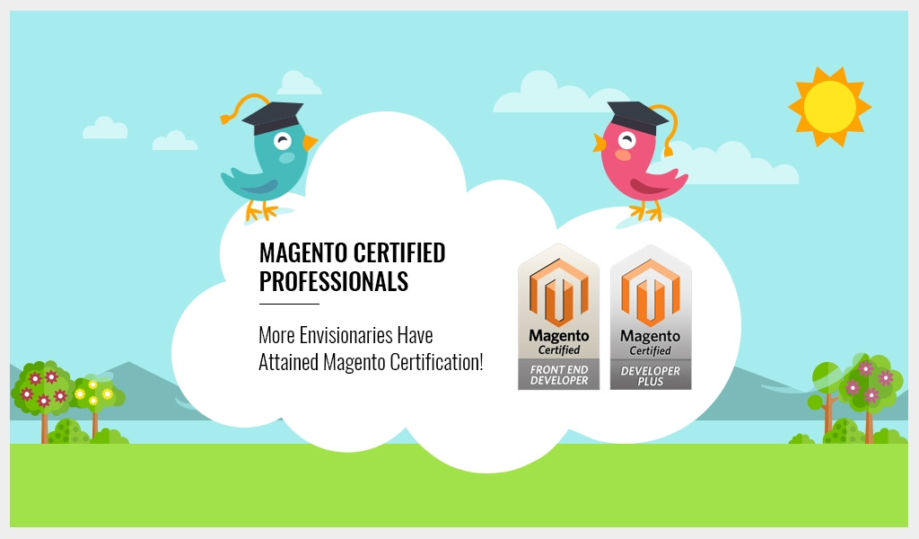 More Magento Certified Professionals in Envision Ecommerce
