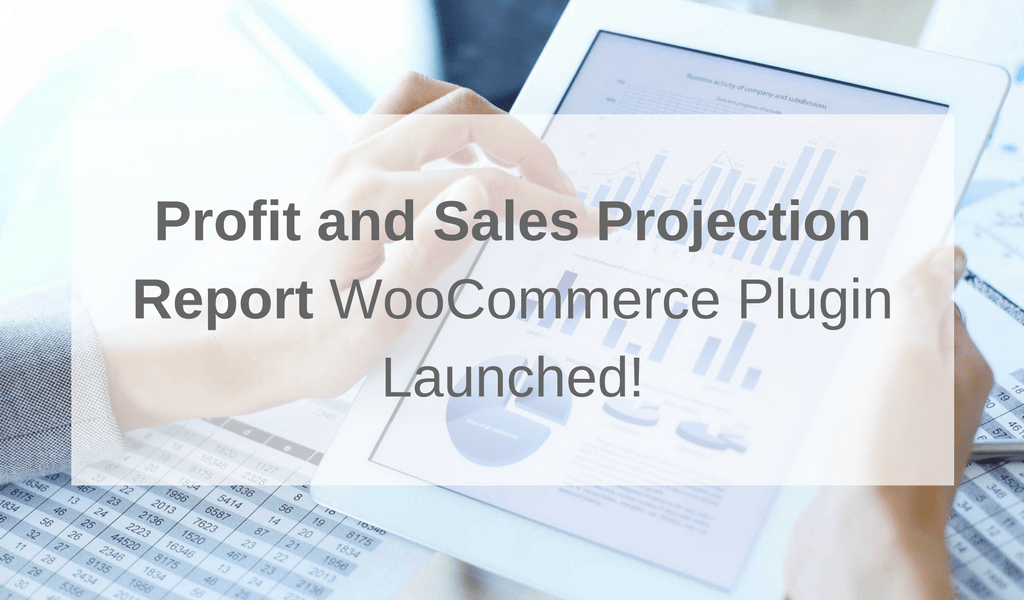 Profit and Sales Projection Report for WooCommerce Launched!