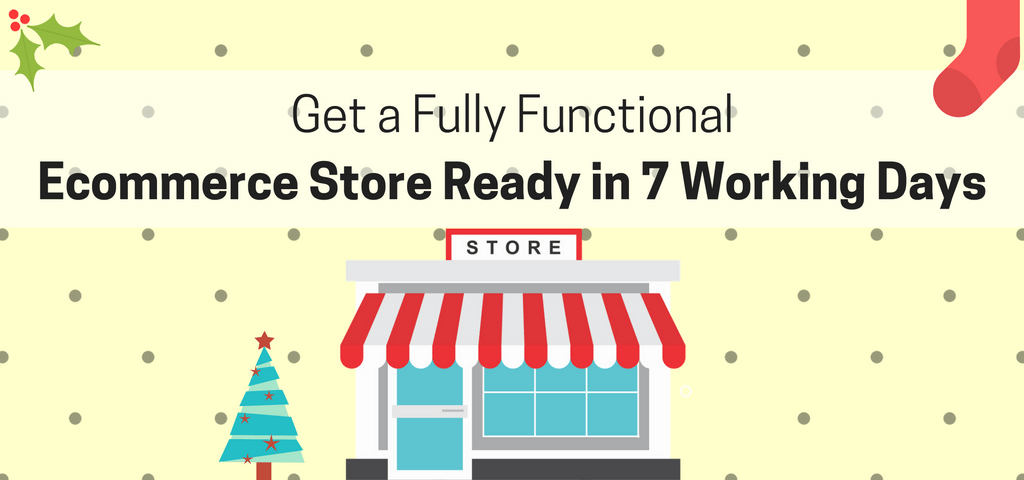 Get a Fully Functional Ecommerce Store Ready in 7 Days – Starting at $299 only!