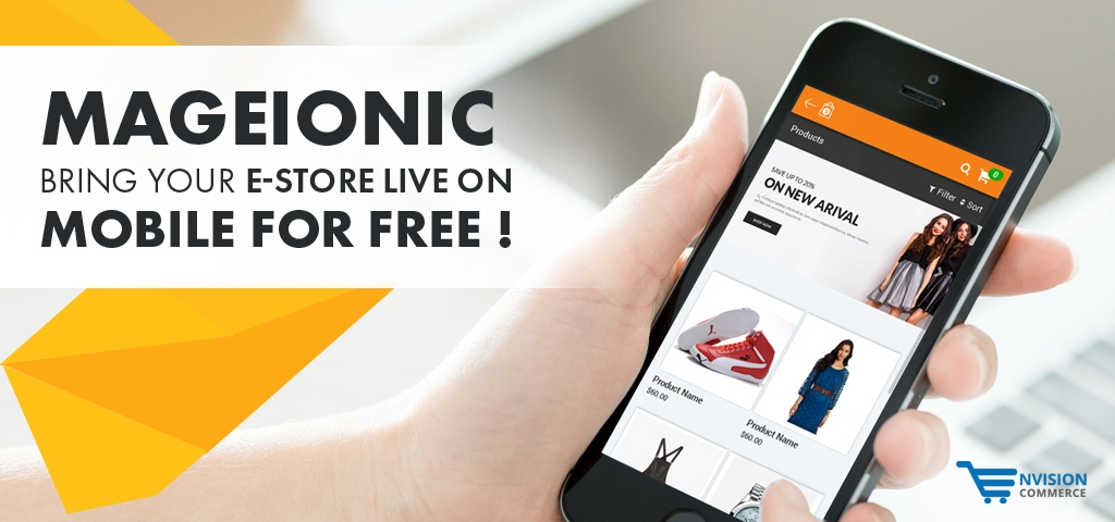 Bring Your e-Store Live on Mobile for Free!