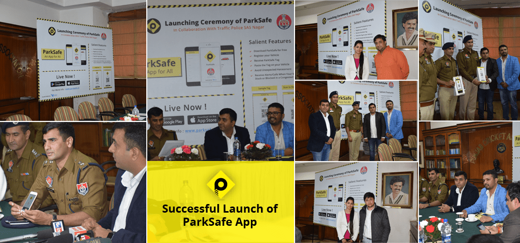 Successful Launch of ParkSafe App