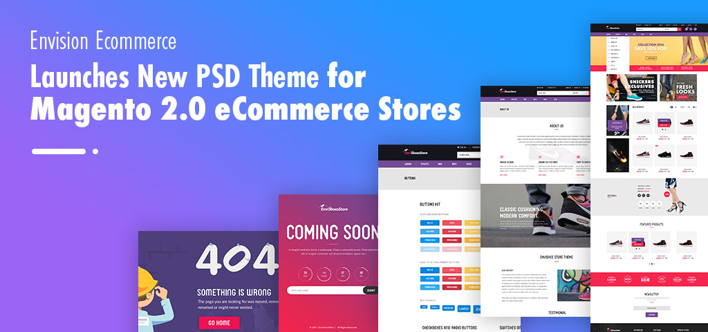 Envision Ecommerce Launches New PSD Theme for Magento 2.0 eCommerce Stores