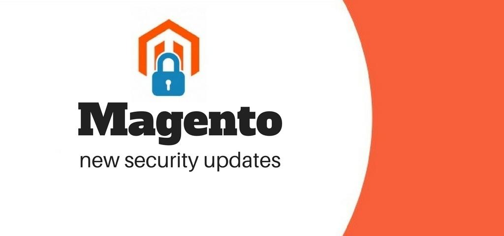 Magento new security update