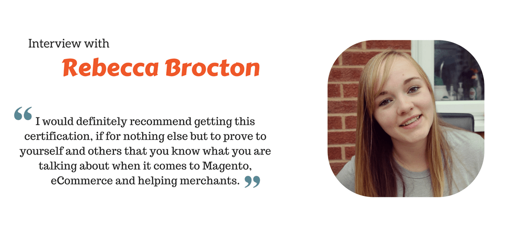 Rebecca Brocton in Conversation with Envision Ecommerce