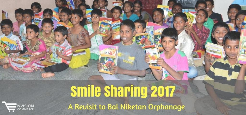 Smile Sharing 2017 – A Revisit to Bal Niketan Orphanage