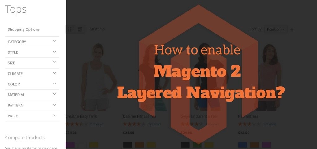 How to enable Magento 2 Layered Navigation?