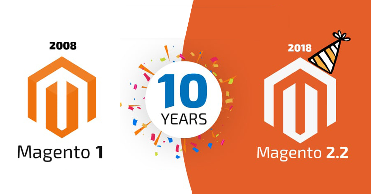 10 Glorious Years of Magento