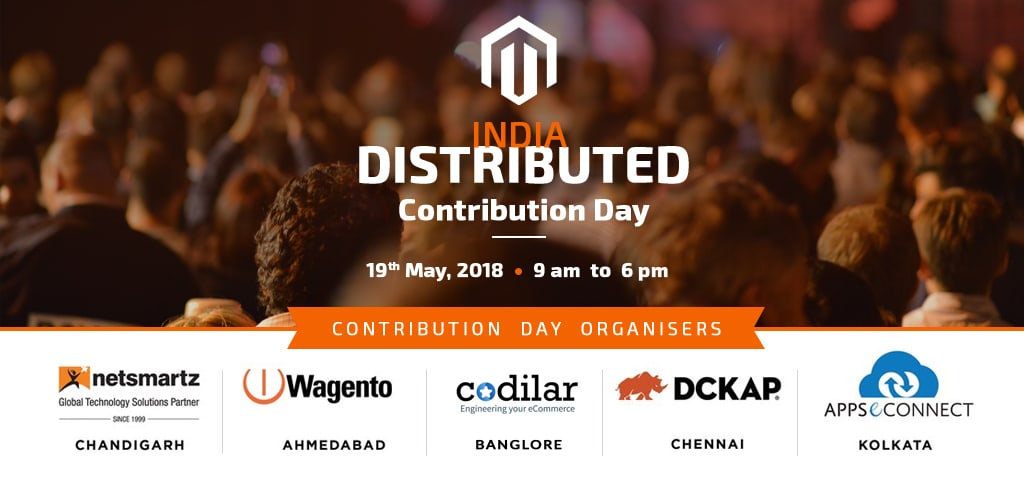The First Ever 'Distributed Magento Contribution Day' in India