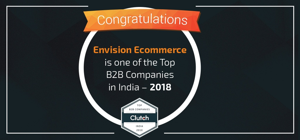 Envision Ecommerce, Top B2B Companies on Clutch