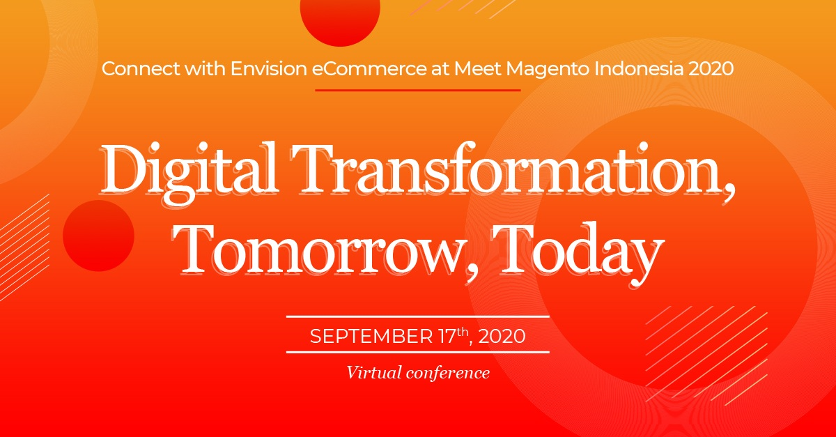Connect with Envision eCommerce at Meet Magento Indonesia 2020