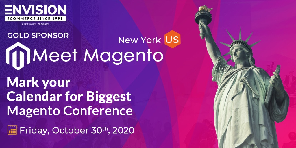 Meet Envision eCommerce at Meet Magento New York 2020